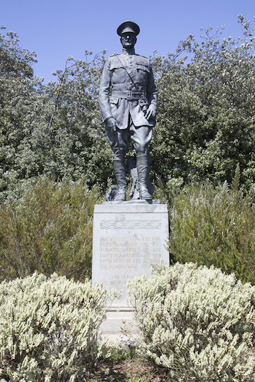 Memorial depicting General Pershing located at Golden State Park, San Francisco CA
